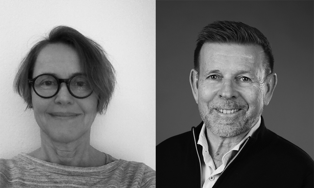 Lena Svanberg och Mikael Parknäs